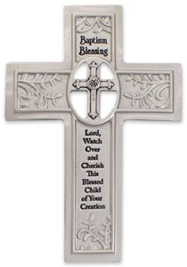 Baptism Blessing Cross