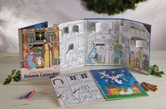 Color-Your-Own Advent Calendar