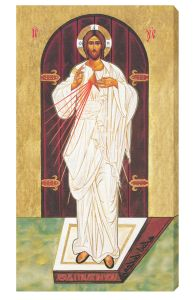 Eastern Icon 10 x 18 Canvas Print Divine Mercy