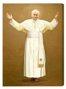 St John Paul II Deluxe Canvas