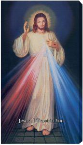 Hyla Divine Mercy canvas 10x18