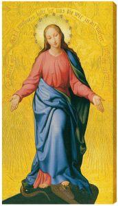 Mary Immakulata 10 x 18 Canvas Print