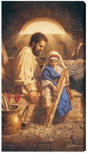 St. Joseph 10 x 18 Canvas Print
