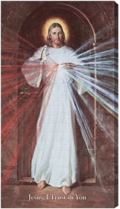 Skemp Divine Mercy, 10X18, Canvas Print, Gallery Wrap