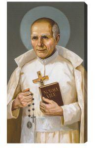 Saint Stanislaus Papczynski 10 x 18 Canvas, Gallery Wrap