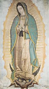 Our Lady of Guadalupe 10 x 18 Canvas, Gallery Wrap