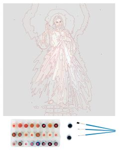 Divine Mercy Paint by Number Kit
