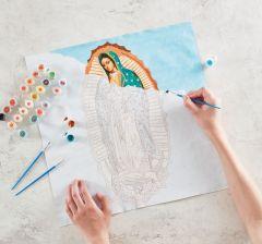 Kit para pintar de Nuestra Señora de Guadalupe