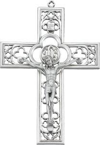 Genuine Pewter Crucifix